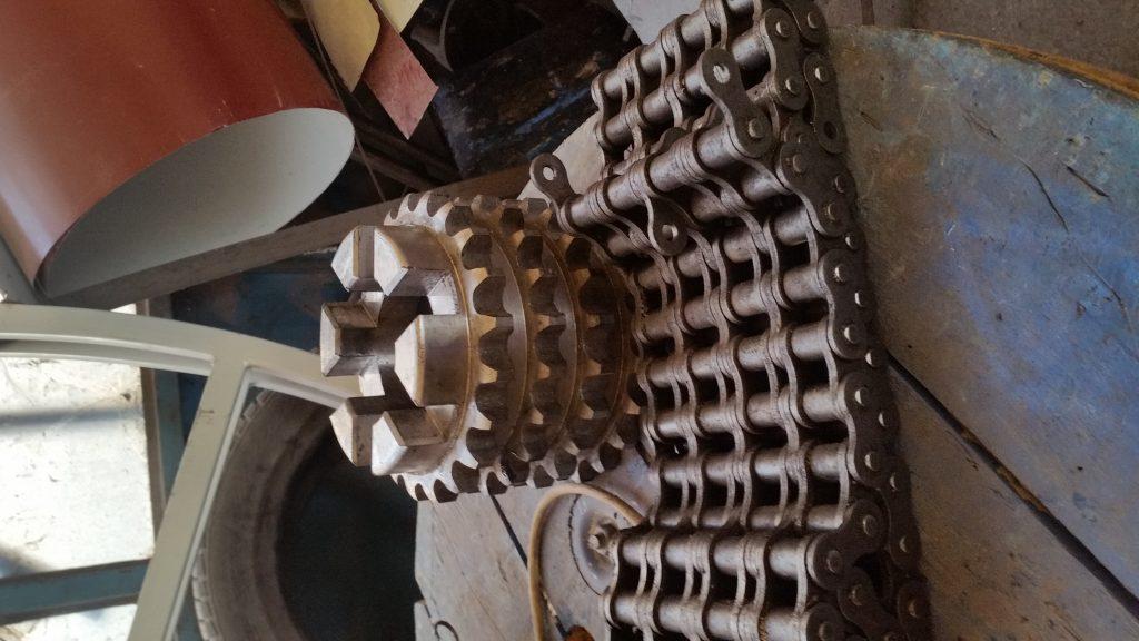 Zincir kutusu dişli çeşitleri